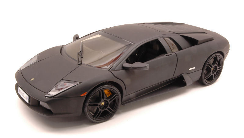 LAMBORGHINI MURCIELAGO 2003 grigio barra 1 18 18 18 MODEL 2487 Welly d09565
