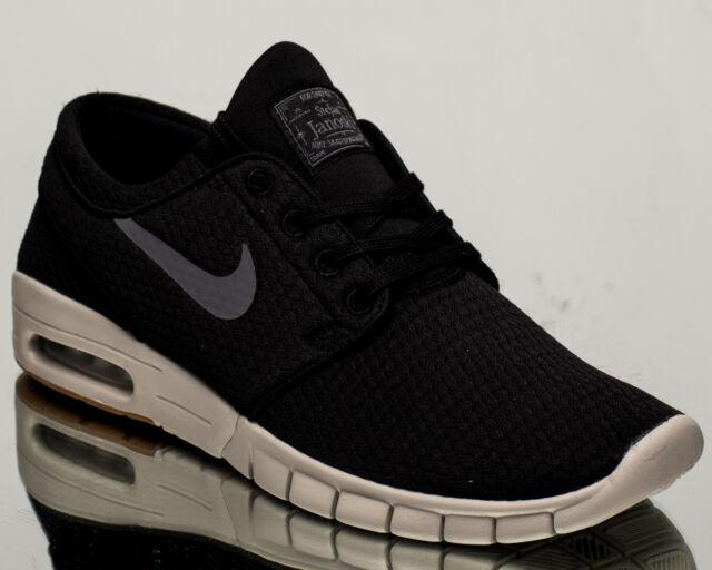 3fdaa0bb1961a Nike SB Stefan Janoski Max air men lifestyle sneakers NEW black grey  631303-020