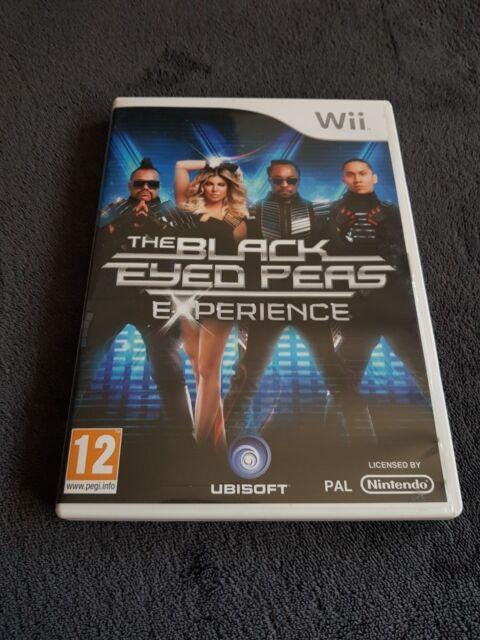 Nintendo Wii The Black Eyed Peas Experience PAL CD état Neuf