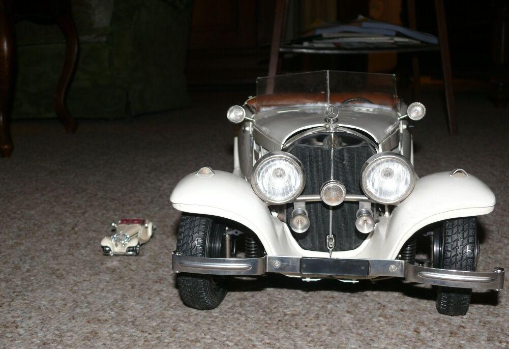 M20 MERCEDES 540 K schwiegermuttersitz Pocher 60 Il Années 70 cm