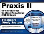 Praxis II Social Studies Content Knowledge (5081) Exam Flashcard Study System P