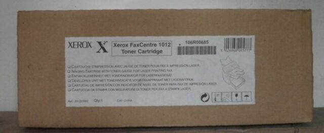 Original Xerox FaxCentre 1012  F116 Toner 106R00685 black  4152-661  Karton C