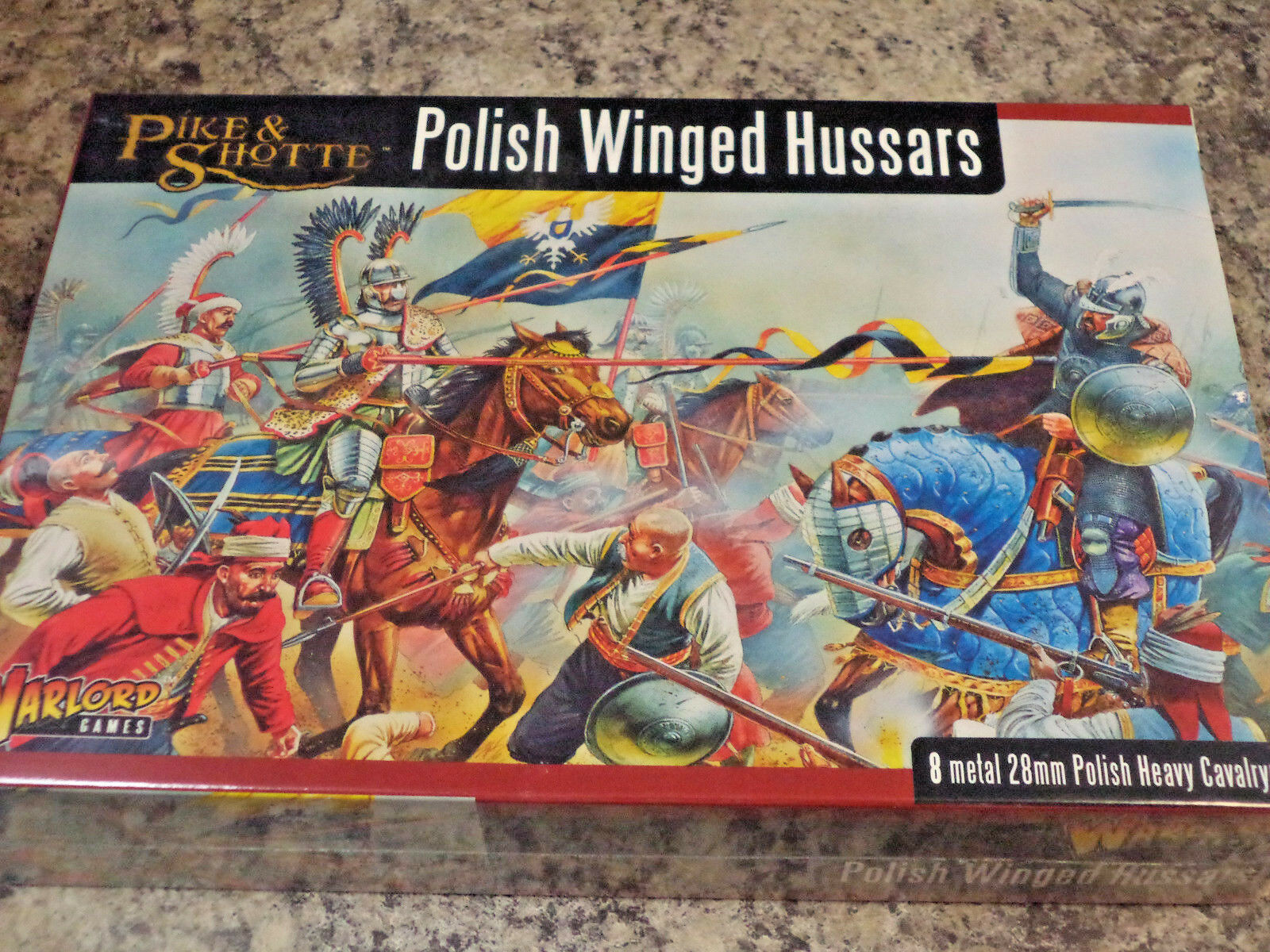 Polish Winged Hussars Pike and Shotte Set War Models Warlord Games New  &
