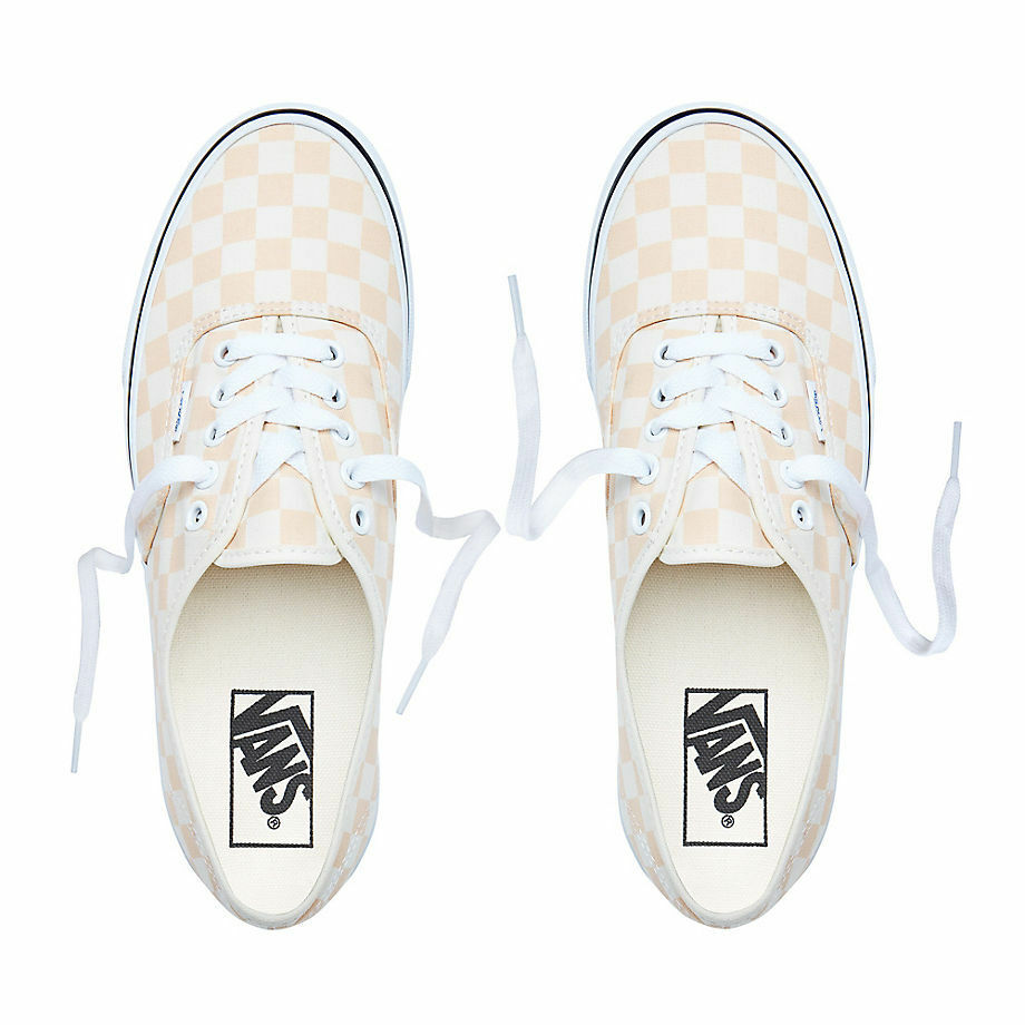 Vans Authentic (Checkerboard) Apricot Icy- Men's 13