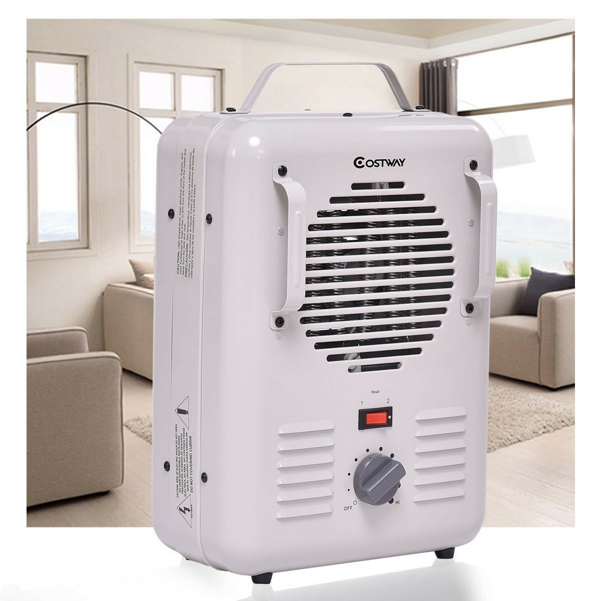 Tangkula 1500w Electric Portable Quart Heater Thermostat Room Air Baseboard Heaters As Well Small With Stock Photo