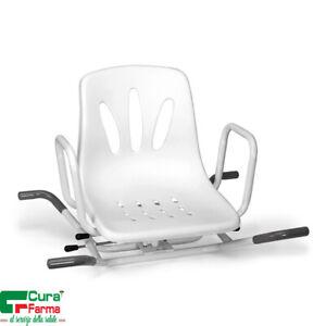 Sedile Per Vasca Bagno.Sedile Per Vasca Da Bagno Girevole Comodo Sedia Con Braccioli Antiscivolo Ebay