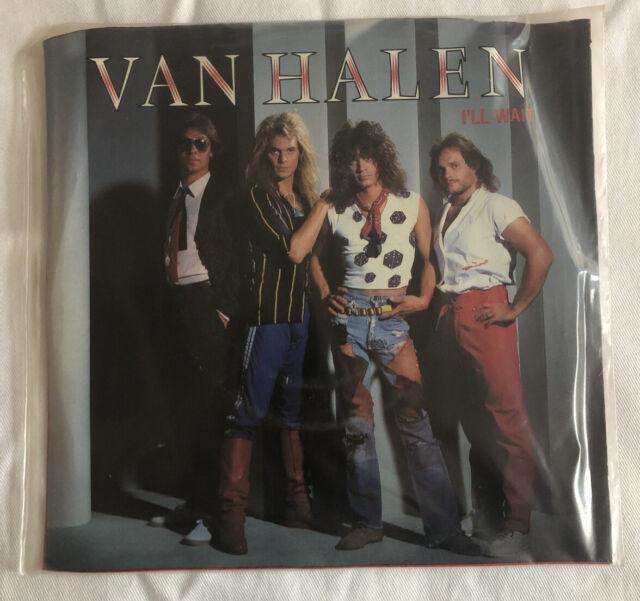 I'll Wait 45 By Van Halen (Vinyl, 1984, Warner Bros (Label