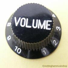 BLACK GUITAR VOLUME CONTROL KNOB NEW ST CHEAP