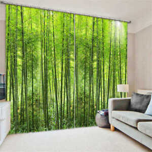 A-Thin-Bamboo-Forest-3D-Blockout-Photo-Curtain-Print-Curtains-Fabric-Kids-Window