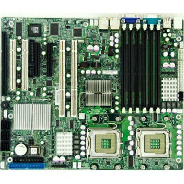 LOT OF 2 SuperMicro X7DVL-E Intel Dual Socket J//771 Xeon Server Board @@@