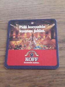 Bierdeckel Finnland Koff Sinebrychoff Beercoaster