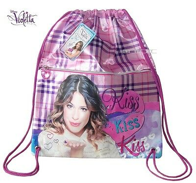 Violetta Kiss Borsetta Borsa Zainetto Zaino Sacco,tasca Frontale,ottima Qualita