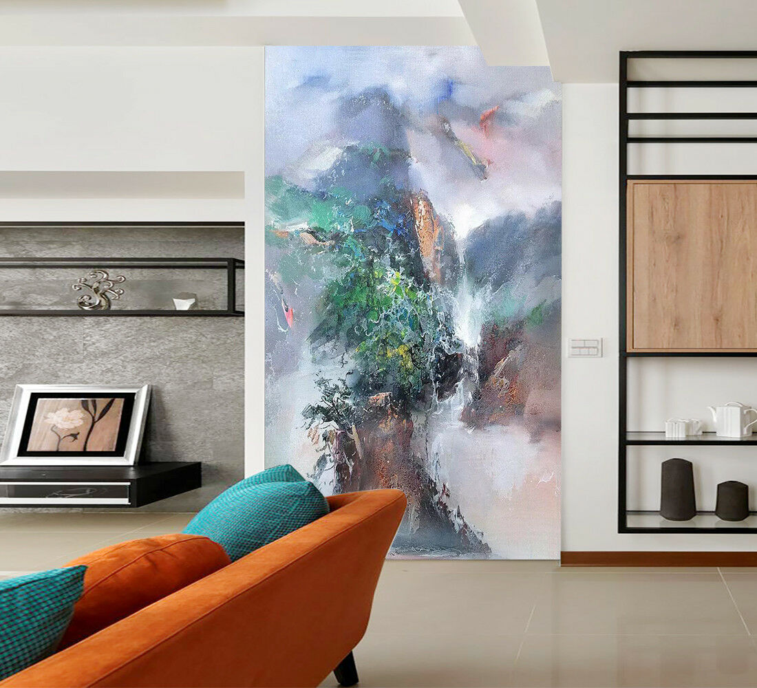 3D Abstract Mountain 054 Wall Paper Exclusive MXY Wallpaper Mural Decal Indoor