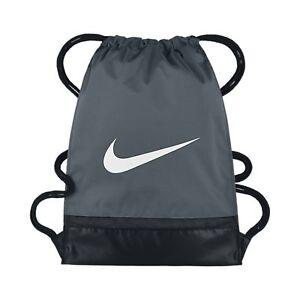 Deporte Nike De Gimnasio Gymsack Bolsas Grisnegro Brasilia Niños CexordB