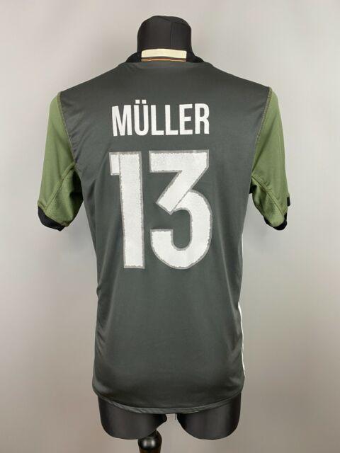 Germany Soccer Kit Jersey 2xl 2016 Away Shirt AA0110 Football ...