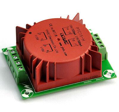 15VA Encapsulated Toroidal Transformer 115/230V, 15Vx2