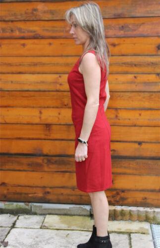 Abito Nuova Vestito M Bandogami 42 Rosso f Girbaud Taglia Etichetta Lana 0mN8nwv