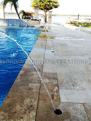 Deck Jet Water Feature Beautiful Arc Swimming Pool Feature Stream w Cap &  Nozzle 696233184732 | eBay