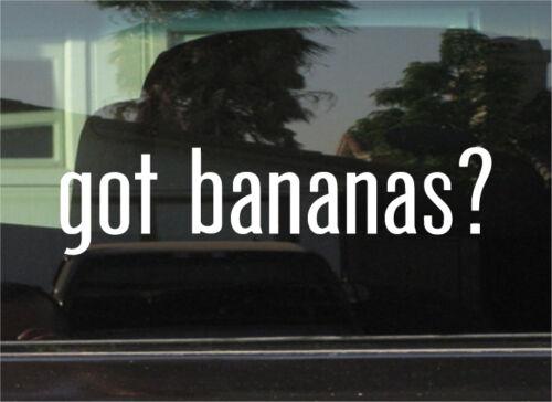 Vinyl Decal//Autocollant A la banane