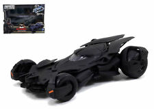 JADA 1:24 NEW BATMAN V SUPERMAN MOVIES BATMOBILE MODEL KIT BLACK DIECAST 97781