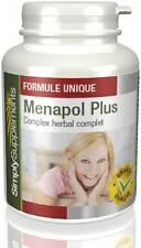 Menapol Plus - Peut Soulager les symptômes de la ménopause -  360 Gélules