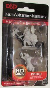 FEMALE HALF-ORC BARBARIAN Nolzur's Marvelous Miniatures Unpainted D&D Dungeons