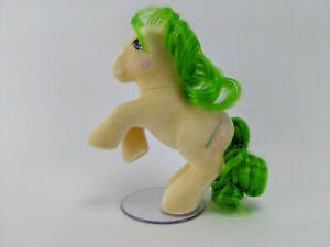 Magic Star - So Soft Ponies Flocked Stand Year 4 G1 1985 Vintage My Little Pony