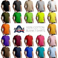 Aaa T-shirt Alstyle 1301 Plain Blank Crewneck Mens Tee