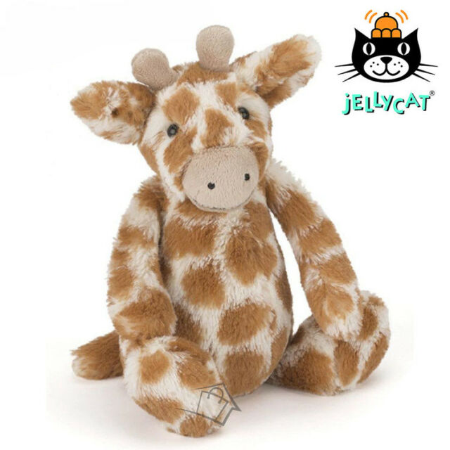 JELLYCAT Bashful Giraffe Small 18cm Soft Plush Toy Safari Animal Baby Jelly Cat