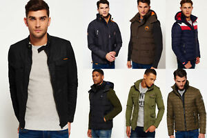 New Mens Superdry Jackets Selection 1 - Various Styles & Colours 0711