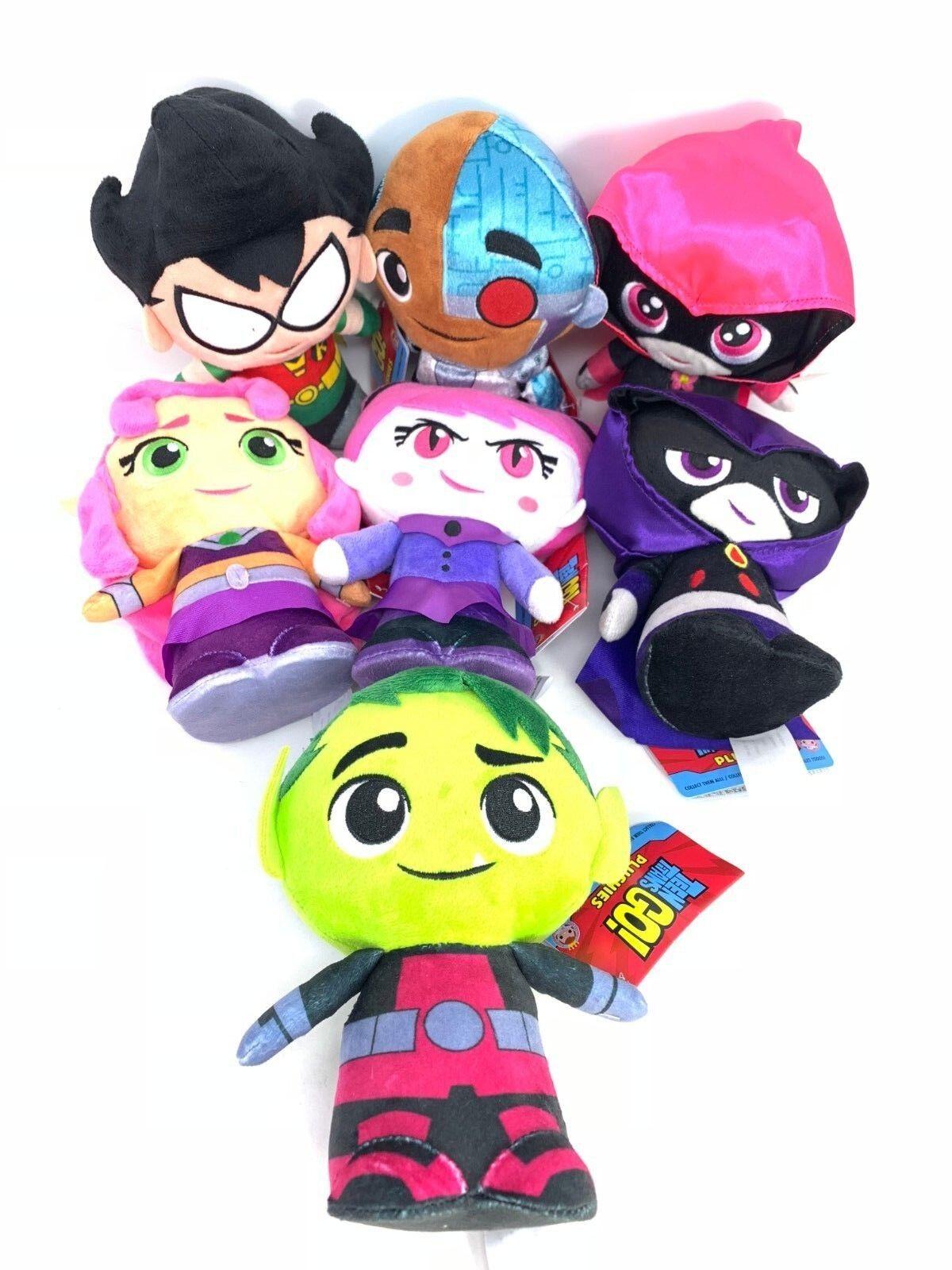 8  Funko Plushies DC Teen Titans Go  Raven Plush Set of 7