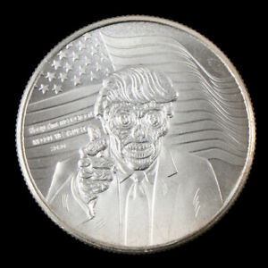 Silver-United-States-of-America-President-Donald-Trump-Commemorative-coinsL-Y