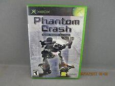 Phantom Crash (Microsoft Xbox, 2002) Complete Free Shipping