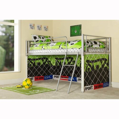 """Children/'s Kid/'s Boy/'s Bunk Under The Bed Cover Football Goal Tent New 28.5/""""x152"""