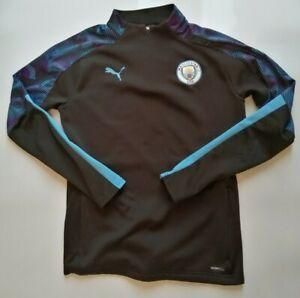 Manchester City Tuta Puma Top e Pantaloni Da Uomo UK Taglia Media-GRATIS P&P