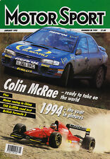 Motor Sport Jan 1995 - Network Q RAC Rally, Collin McRae, British F3, China