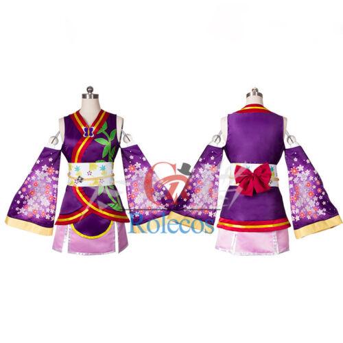 Love Live 9 Roles Kaguya No Shiro De Odoritai Kimono Cosplay Costume Dress
