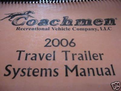 2006 Coachmen Systems Manual Captiva 270 RBH EBay