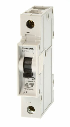 Siemens 5SX2102-7 C2 Sicherungsautomat
