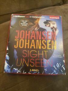 Sight Unseen by Iris Johansen  9 CD Unabridged Audiobook