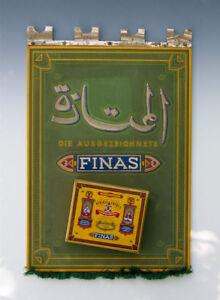 Kurioses-3D-Pappschild-FINAS-Cigaretten-um-1935