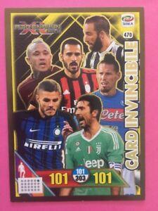Calciatori Adrenalyn 2017 18 Panini Card Invincibile N 470 Ebay