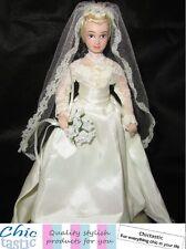 Princess Grace of Monaco porcelain Royal wedding doll Grace Kelly replica dress