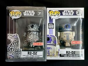 Funko-Pop-Star-Wars-R2-D2-Bundle-Set-Dagobah-Futura-Target-Exclusive-BNIB-OOS