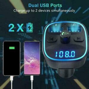 In-Car Bluetooth Freisprecheinrichtung MP3-Player / Q3C5 FM Transmit I1Z2