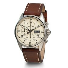 New Torgoen T36 Men's LMT Swiss Valjoux 7750 Automatic Chronograph Pilot Watch