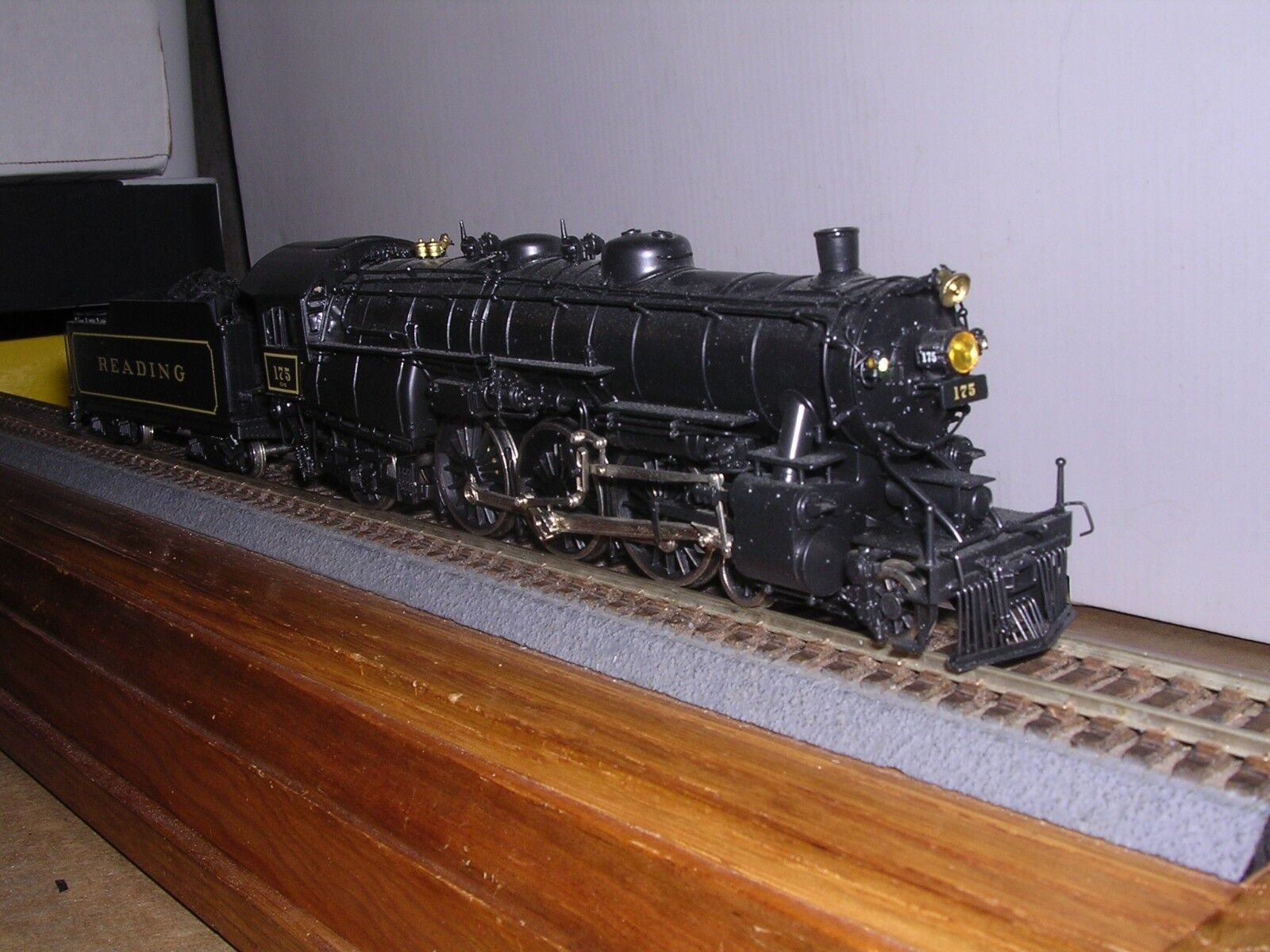 BRASS EMPIRE MIDLAND  DL-108   Reading G-2sa 4-6-2 Steam Loco  H.O.  1 87
