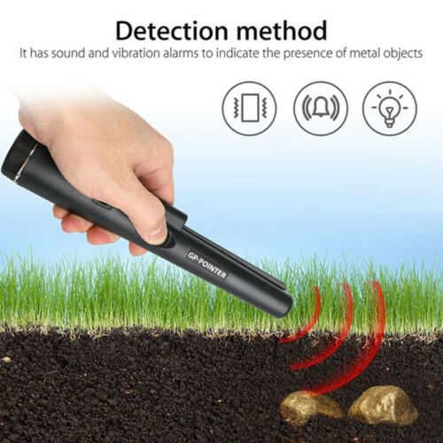 GP-Pointer Probe Metal Gold Detector Vibration Light Alarm Security Pin PointeSK