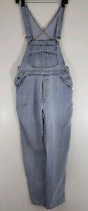 London-London-Womens-Denim-Blue-Jean-Bib-Overalls-Size-Medium-2140