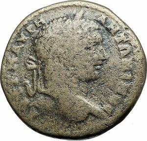 CARACALLA-Authentic-Ancient-198AD-Serdica-Thrace-Genuine-Roman-Coin-TYCHE-i78921
